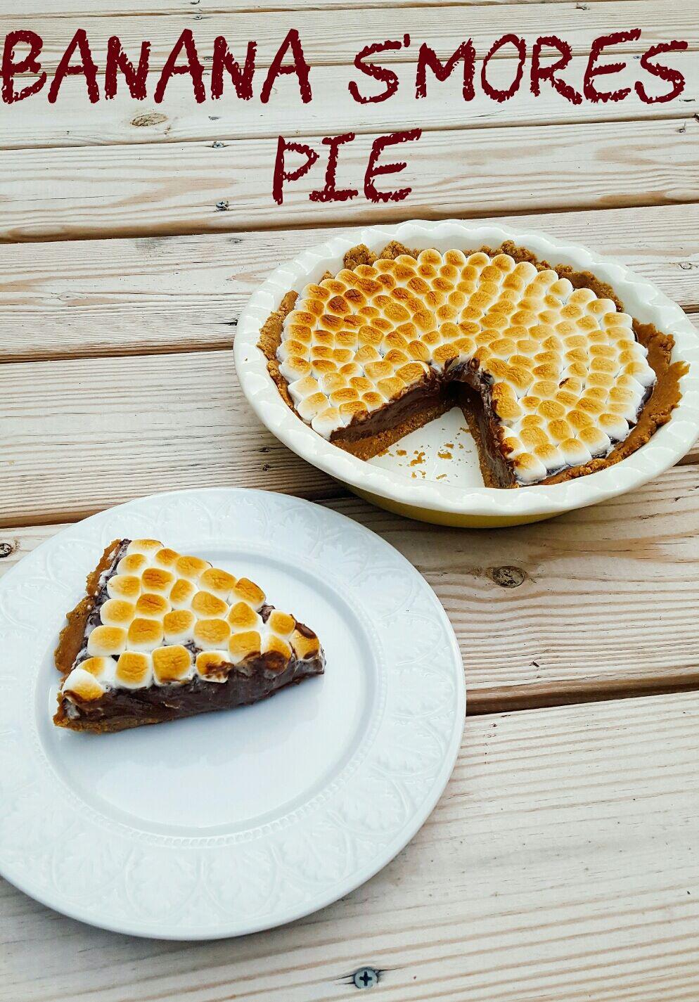 Banana S'mores Pie