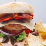 Southwest Turkey Burger with Chips